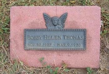 THOMAS, BOBBY HELEN - Baca County, Colorado | BOBBY HELEN THOMAS - Colorado Gravestone Photos