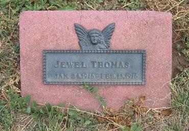 THOMAS, JEWELL - Baca County, Colorado   JEWELL THOMAS - Colorado Gravestone Photos