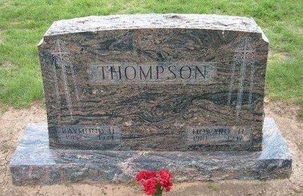 THOMPSON, RAYMOND H - Baca County, Colorado   RAYMOND H THOMPSON - Colorado Gravestone Photos