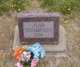 THOMPSON, JEAN - Baca County, Colorado | JEAN THOMPSON - Colorado Gravestone Photos
