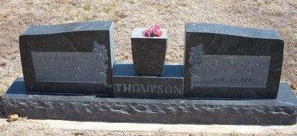 THOMPSON, SARAH LUETTA - Baca County, Colorado   SARAH LUETTA THOMPSON - Colorado Gravestone Photos