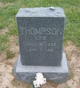 THOMPSON, LEE - Baca County, Colorado | LEE THOMPSON - Colorado Gravestone Photos