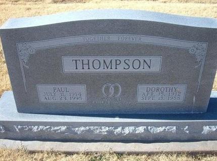 THOMPSON, DOROTHY - Baca County, Colorado | DOROTHY THOMPSON - Colorado Gravestone Photos
