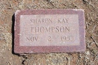 THOMPSON, SHARON KAY - Baca County, Colorado | SHARON KAY THOMPSON - Colorado Gravestone Photos