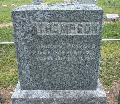 THOMPSON, TRUMAN B - Baca County, Colorado | TRUMAN B THOMPSON - Colorado Gravestone Photos