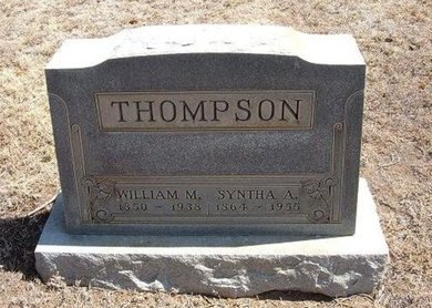 THOMPSON, WILLIAM M - Baca County, Colorado | WILLIAM M THOMPSON - Colorado Gravestone Photos