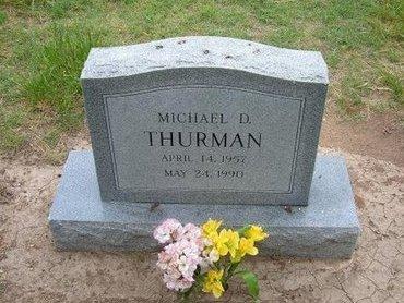 THURMAN, MICHAEL D - Baca County, Colorado   MICHAEL D THURMAN - Colorado Gravestone Photos