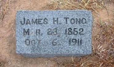 TONG, JAMES H - Baca County, Colorado | JAMES H TONG - Colorado Gravestone Photos