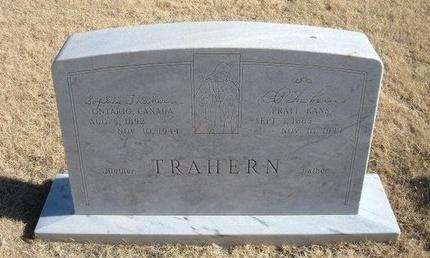 TRAHERN, SOPHIA - Baca County, Colorado | SOPHIA TRAHERN - Colorado Gravestone Photos