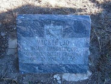 TRAHERN, VICKIE JO - Baca County, Colorado | VICKIE JO TRAHERN - Colorado Gravestone Photos