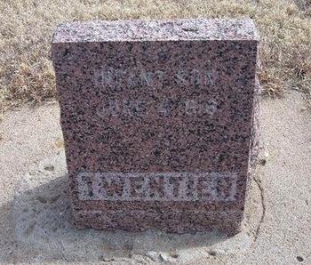 TWENTIER, INFANT SON - Baca County, Colorado   INFANT SON TWENTIER - Colorado Gravestone Photos