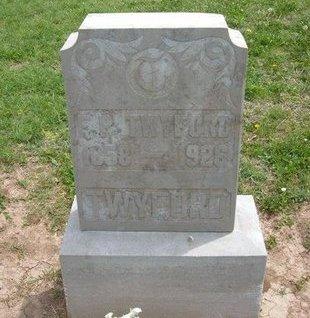 TWYFORD, F B - Baca County, Colorado | F B TWYFORD - Colorado Gravestone Photos