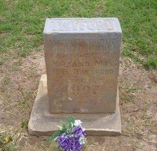 TWYFORD, INFANT TWINS - Baca County, Colorado | INFANT TWINS TWYFORD - Colorado Gravestone Photos