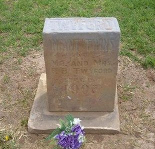 TWYFORD, INFANT TWINS - Baca County, Colorado   INFANT TWINS TWYFORD - Colorado Gravestone Photos