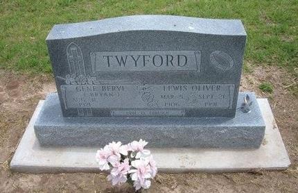TWYFORD, LEWIS OLIVER - Baca County, Colorado   LEWIS OLIVER TWYFORD - Colorado Gravestone Photos