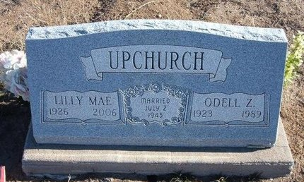 UPCHURCH, ODELL Z - Baca County, Colorado | ODELL Z UPCHURCH - Colorado Gravestone Photos