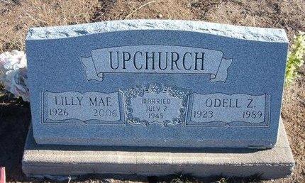 UPCHURCH, LILLY MAE - Baca County, Colorado | LILLY MAE UPCHURCH - Colorado Gravestone Photos