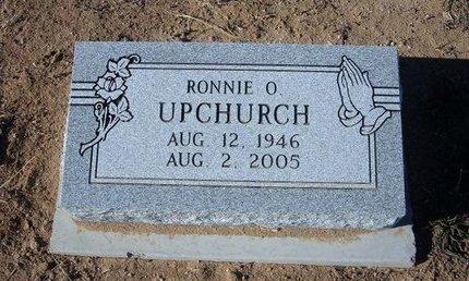 UPCHURCH, RONNIE O - Baca County, Colorado | RONNIE O UPCHURCH - Colorado Gravestone Photos