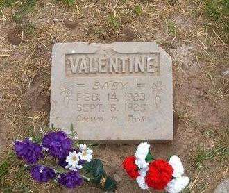 VALENTINE, BABY - Baca County, Colorado | BABY VALENTINE - Colorado Gravestone Photos