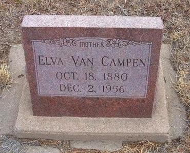 VAN CAMPEN, ELVA - Baca County, Colorado | ELVA VAN CAMPEN - Colorado Gravestone Photos