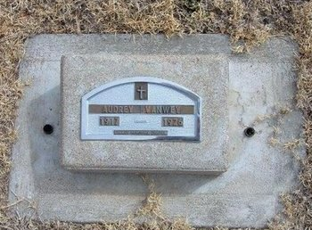 VANWEY, AUDREY - Baca County, Colorado   AUDREY VANWEY - Colorado Gravestone Photos