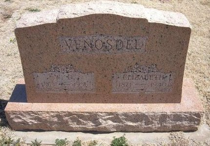 VENOSDEL, WILLIAM D - Baca County, Colorado | WILLIAM D VENOSDEL - Colorado Gravestone Photos