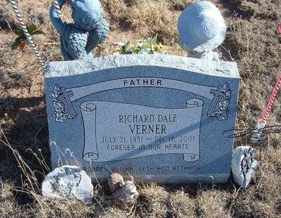 VERNER, RICHARD DALE - Baca County, Colorado   RICHARD DALE VERNER - Colorado Gravestone Photos