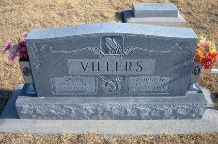 VILLERS, VIOLA - Baca County, Colorado | VIOLA VILLERS - Colorado Gravestone Photos