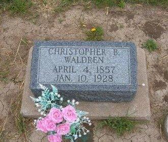 WALDREN, CHRISTOPHER B - Baca County, Colorado | CHRISTOPHER B WALDREN - Colorado Gravestone Photos