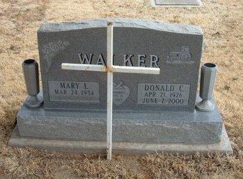 WALKER, DONALD CURTIS - Baca County, Colorado | DONALD CURTIS WALKER - Colorado Gravestone Photos