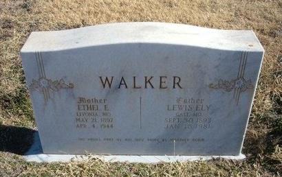 HAMILTON WALKER, ETHEL EVALAND - Baca County, Colorado   ETHEL EVALAND HAMILTON WALKER - Colorado Gravestone Photos