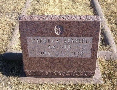 WALKER, MARCENA - Baca County, Colorado   MARCENA WALKER - Colorado Gravestone Photos