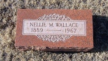 WALLACE, NELLIE M - Baca County, Colorado | NELLIE M WALLACE - Colorado Gravestone Photos