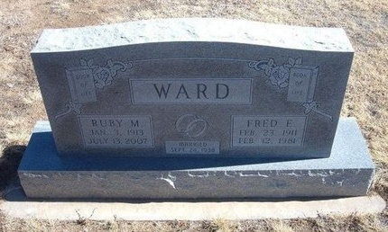 WARD, RUBY M - Baca County, Colorado   RUBY M WARD - Colorado Gravestone Photos