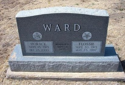 WARD, HORACE - Baca County, Colorado | HORACE WARD - Colorado Gravestone Photos