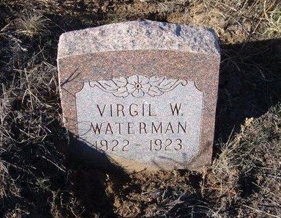 WATERMAN, VIRGIL W - Baca County, Colorado   VIRGIL W WATERMAN - Colorado Gravestone Photos