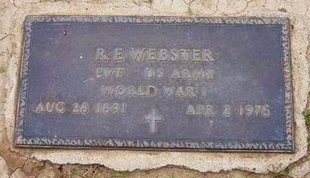 WEBSTER (VETERAN WWI), RINALDO EPPLER - Baca County, Colorado | RINALDO EPPLER WEBSTER (VETERAN WWI) - Colorado Gravestone Photos
