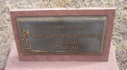GALLAGHER WELBOURNE, MARY CATHERINE - Baca County, Colorado | MARY CATHERINE GALLAGHER WELBOURNE - Colorado Gravestone Photos