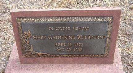 GALLAGHER WELBOURNE, MARY CATHERINE - Baca County, Colorado | MARY CATHERINE GALLAGHER WELBOURNE - Colorado Gravestone Photos