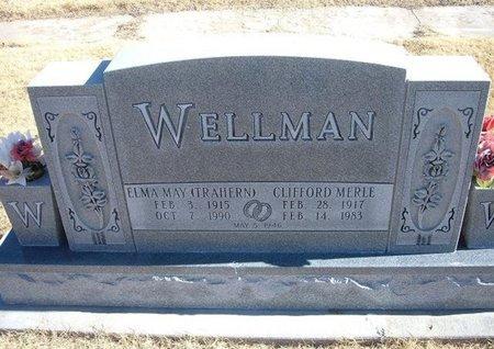 TRAHERN WELLMAN, ELMA MAY - Baca County, Colorado   ELMA MAY TRAHERN WELLMAN - Colorado Gravestone Photos