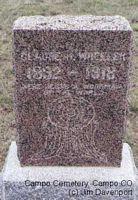 WHEELER, CLAUDE H. - Baca County, Colorado | CLAUDE H. WHEELER - Colorado Gravestone Photos