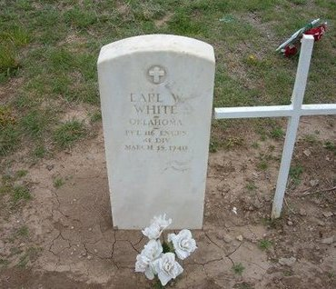 WHITE (VETERAN WWI), EARL W - Baca County, Colorado | EARL W WHITE (VETERAN WWI) - Colorado Gravestone Photos