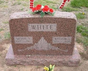 ELLSWORTH WHITE, MINNIE THERETTA - Baca County, Colorado | MINNIE THERETTA ELLSWORTH WHITE - Colorado Gravestone Photos