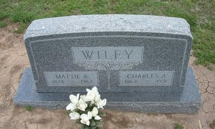 WILEY, MATTIE A - Baca County, Colorado | MATTIE A WILEY - Colorado Gravestone Photos