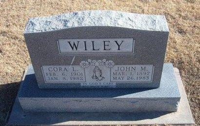 WILEY, CORA L - Baca County, Colorado   CORA L WILEY - Colorado Gravestone Photos