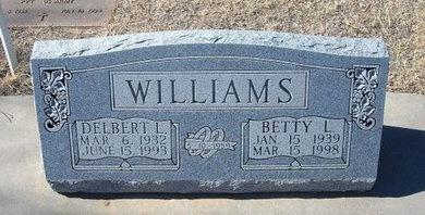 WILLIAMS, DELBERT L - Baca County, Colorado   DELBERT L WILLIAMS - Colorado Gravestone Photos