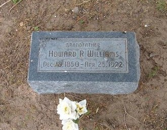 WILLIAMS, HOWARD R - Baca County, Colorado   HOWARD R WILLIAMS - Colorado Gravestone Photos