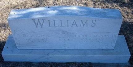 WILLIAMS, ELSIE DELLMA - Baca County, Colorado   ELSIE DELLMA WILLIAMS - Colorado Gravestone Photos