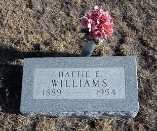 WILLIAMS, HATTIE E - Baca County, Colorado | HATTIE E WILLIAMS - Colorado Gravestone Photos