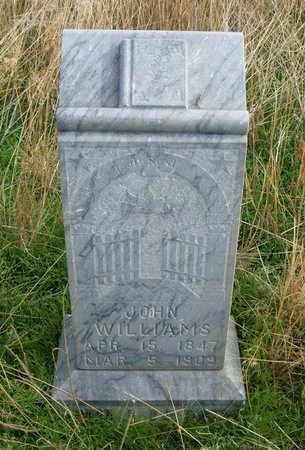 WILLIAMS, JOHN - Baca County, Colorado | JOHN WILLIAMS - Colorado Gravestone Photos